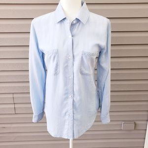 Rails Chambray button down collared shirt XS